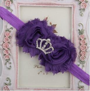 15 цветов инструмент для укладки императорская корона ободки аксессуары для волос для детей делают их модными милыми - Цвет: 2 purple