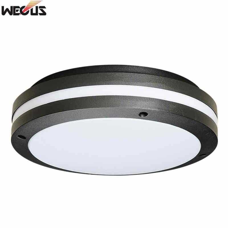 Wecus Bathroom Waterproof Ceiling Lamp