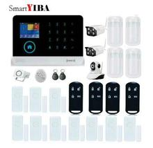 SmartYIBA Wireless Alarmes WiFi GPRS SMS Home Alarm System Security with PIR Motion Detector