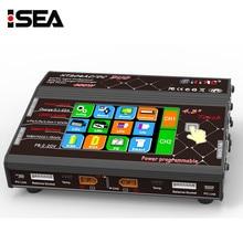 "HTRC 4,3 ""Farbe LCD Touchscreen HT206 AC/DC DUO 200 Watt * 2 20A * 2 Dual Port RC Balancenaufladeeinheit Lilon/LiPo/LiFe/LiHV Batterie Lade"