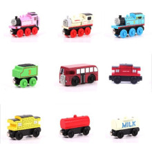 Wooden Railway Train Magnetic Track Model Cars Thomas And Friends Children Kids Wooden Model Train Toy Cars Diecast Brio Avion