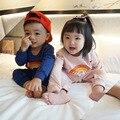2017 bebé primavera ropa jumpsuites BOBO CHOSES mamelucos DEL BEBÉ niños ropa de bebé niña ropa de bebé kikikids kikikids especial