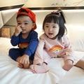 2017 primavera roupas de bebê menino BOBO CHOSES kikikids menina roupa do bebê roupas de bebê macacão de BEBÊ crianças jumpsuites kikikids especial
