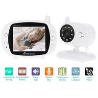2 4 GHz Baby Monitor Wireless Video Camera 3 5 LCD Digital Screen Two Way Talkback
