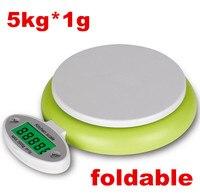 5 KG 1g 5000g Cuisine Échelle LCD Affichage Numérique Cuisson Des Aliments de Régime Weight balance Échelles Pondération Outil g lb oz 40% off