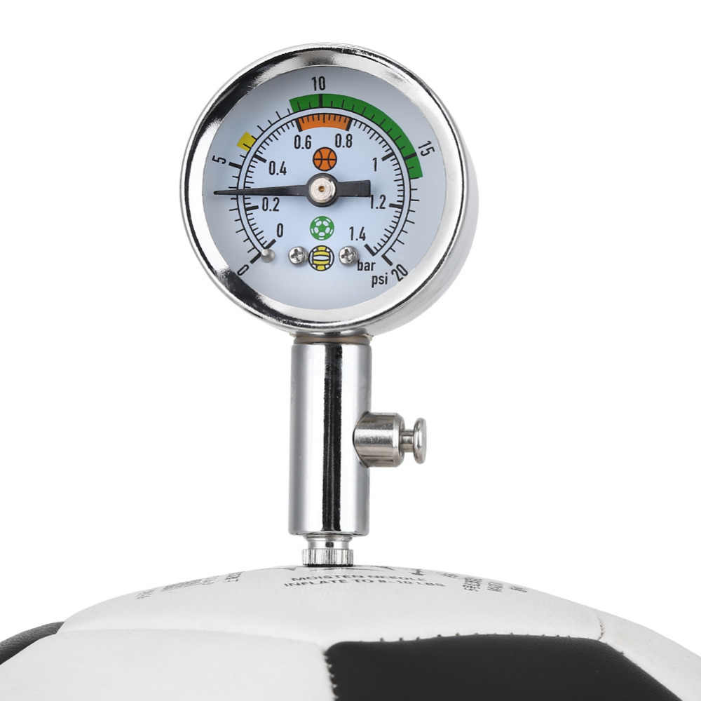 Luchtdrukmeter Mini Bal Druk Meter Basketbal Voetbal Volleybal Barometer Tools Air Regulator Druk Measure Tool