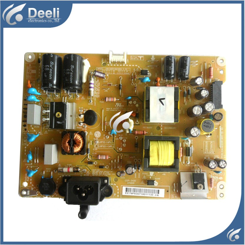 good Working original 100% new for EAY63071801 EAX65391401 LGP32-14PL1 Power Supply Board 32LB5800-UG good working for universal power supply board mp118fl rev1 1 32 42 inch mp118t mp118fl t used board