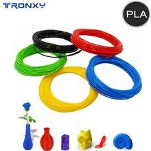 TRONXY Plastic Printer Filament PLA For 3d Pen 10 Meter Printer Printing Materials Extruder Accessories 3D Pen Parts Colorful