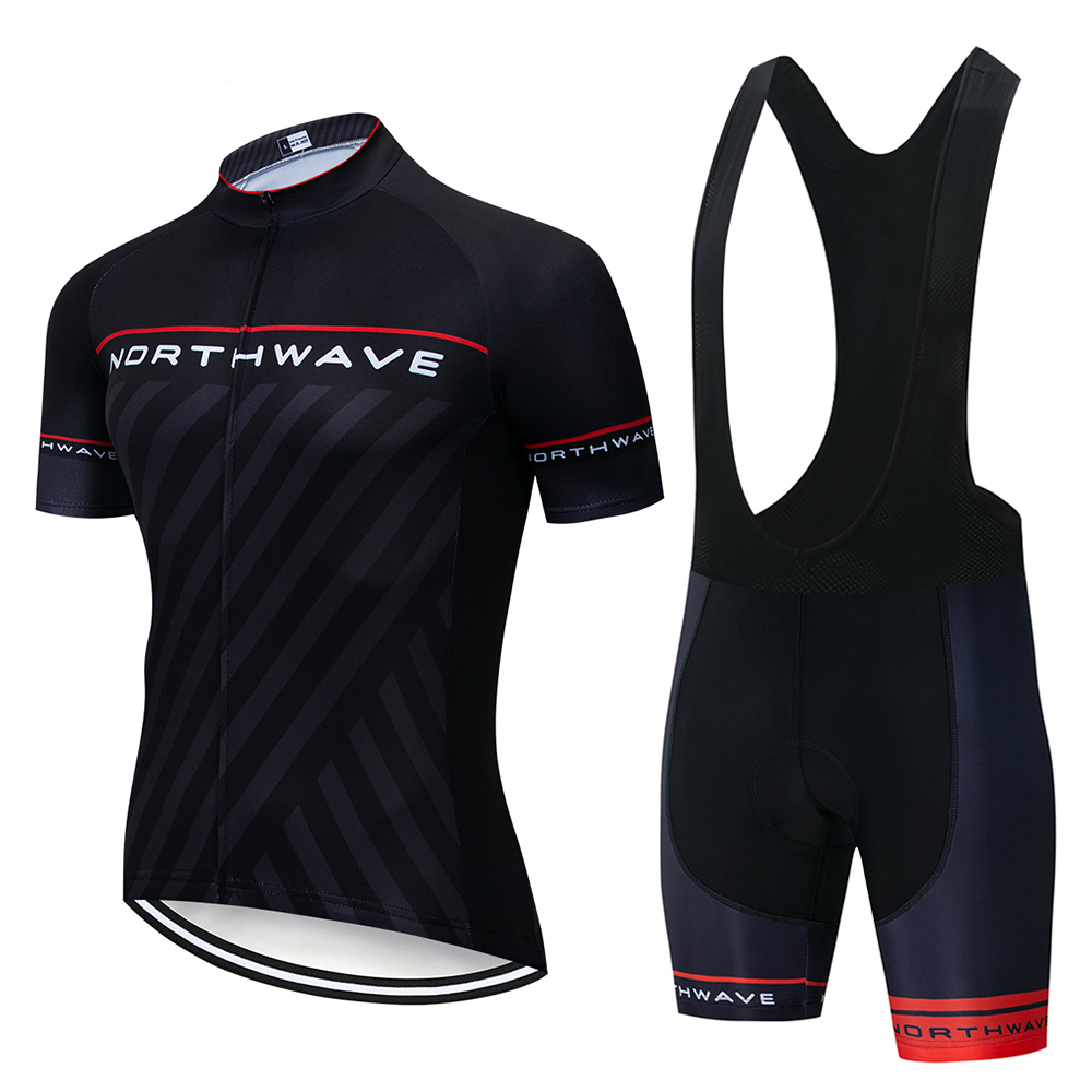 Kind-Hearted New Nw Northwave Men Cycling Jersey Bib /shorts Set Summer Breathable Short Sleeve Racing Bike Clothing Mtb Bicycle Sportswear
