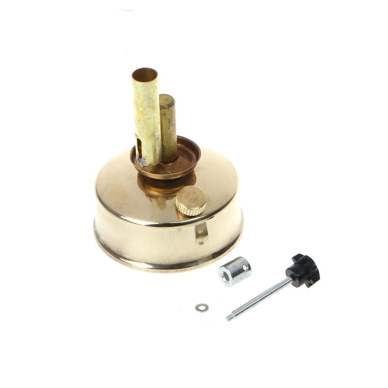 Brass Alcohol Lamp Blow Torch Alcohol Blast Burner 150ml Lab Equipment Heating