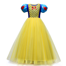 Sofia Princess Dress for Girl Snow White Cosplay Costume Grinch Dress Children Carnival Party Tutu Dress  Free Shipping
