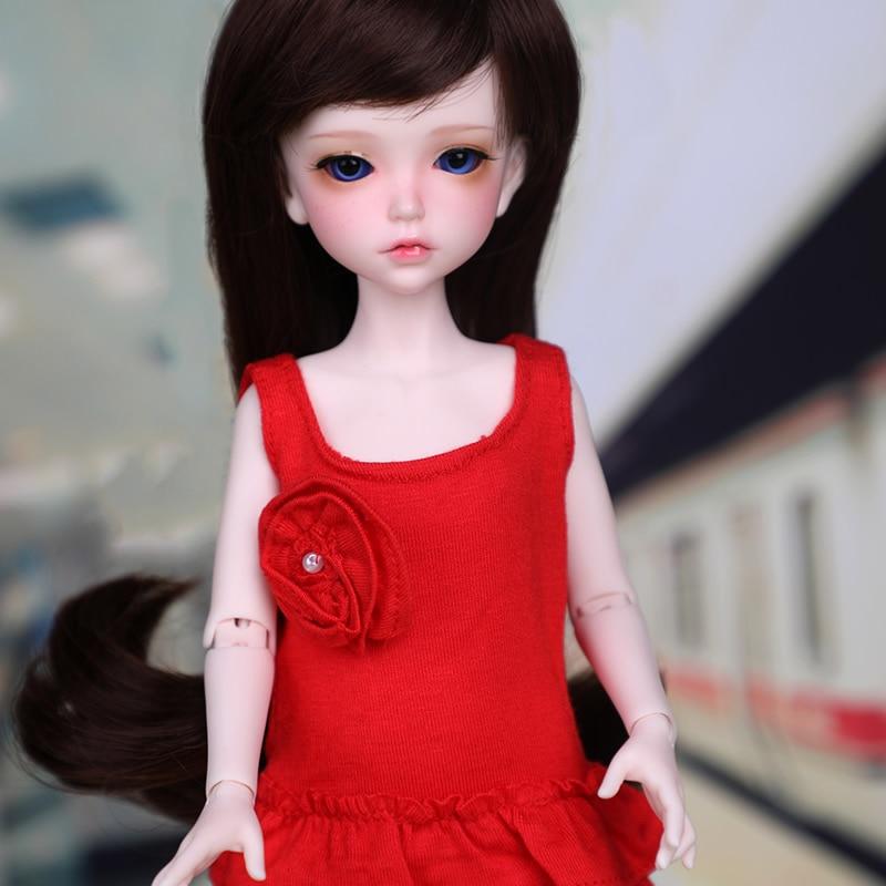 1/6 BJD bambola della resina Lonnie gli occhi della ragazza di modo di Trasporto-in Bambole da Giocattoli e hobby su  Gruppo 3