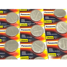 20pcs/lot New Original Battery For Panasonic CR3032 3V Lithium Car Key Remote Control Electric Alarm Cell Button Coin Batteries