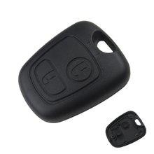 Передний Чехол для автомобильного ключа, Сменный Чехол для брелока с 2 кнопками, Пустая Крышка для пульта дистанционного управления, чехол д...