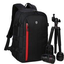Große Kapazität Wasserdicht Fotografie Kamera/video Tasche DSLR Kamera Rucksack Kamera Foto Tasche Für Nikon Canon Slr Kamera Objektiv