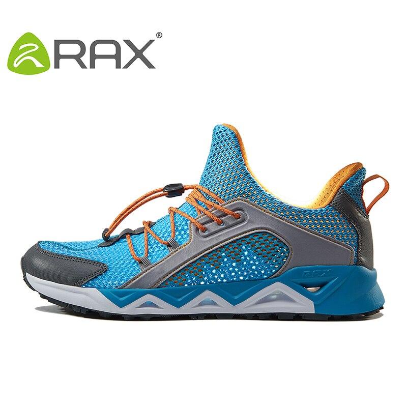 RAX Nouvelle Arrivée Hommes Respirant Maille Chaussures de Course Zapatillas Deportivas Hombre Marche En Plein Air Sport Athlétique Sneakers Chaussures Homme