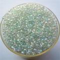 Venda Popular Brilhante Branco Ab Cor 1000 Pcs 2mm Vidro Checa Contas Espaçador Semente Jewelry Making DIY Escolha 46 cores