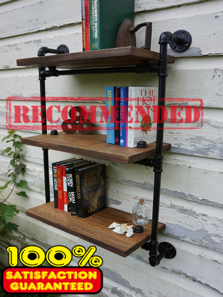 Towel Racks American Old Industrial Wrought Iron Pipe Wall Shelves Wall Shelving Racks Clapboard Creative Novelty Towel Racks-Z8