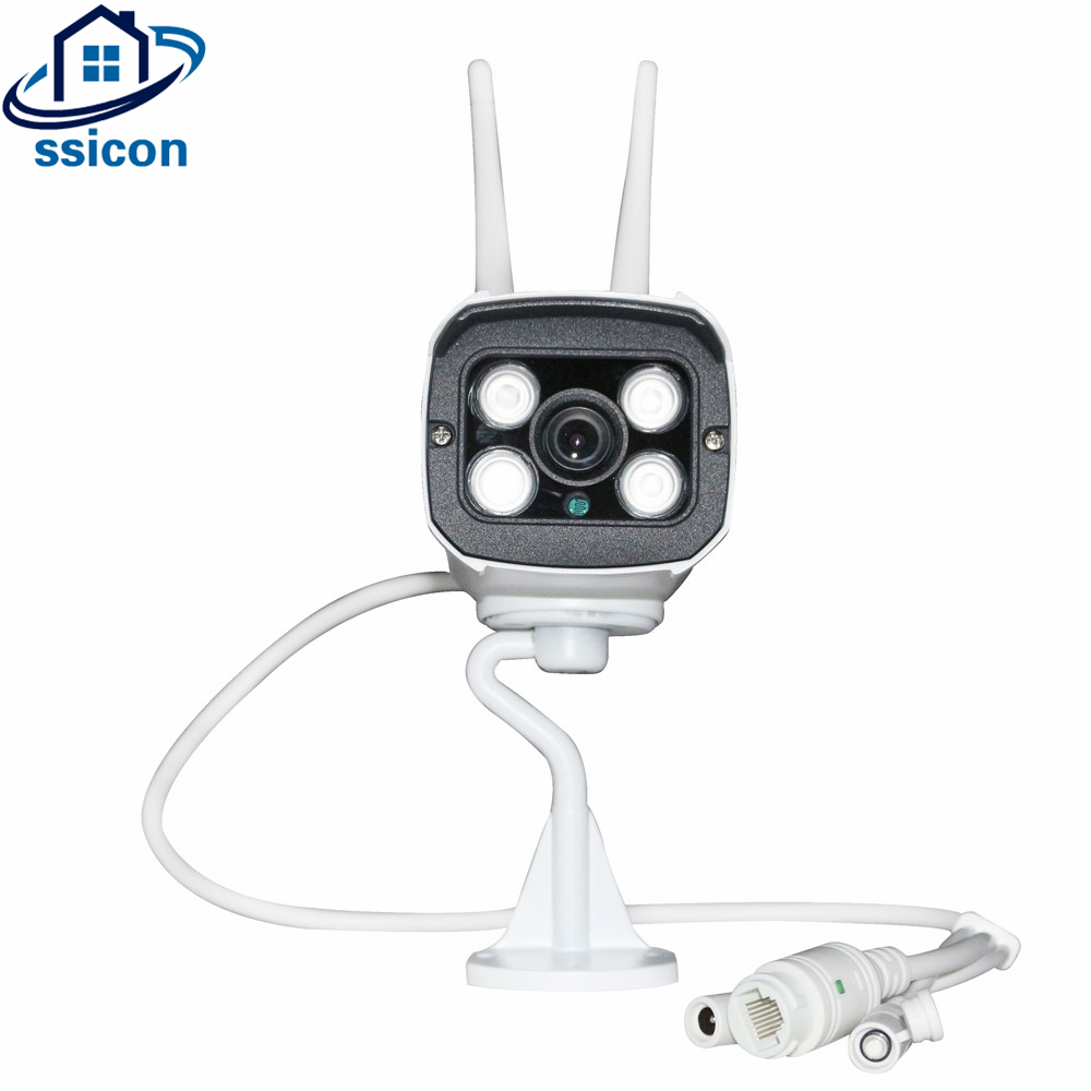 SSICON 720P 960P YOOSEE Camera WIFI Waterproof 3.6mm Lens Security Bullet IP Camera Outdoor Wireless 4Pcs Array LedsSSICON 720P 960P YOOSEE Camera WIFI Waterproof 3.6mm Lens Security Bullet IP Camera Outdoor Wireless 4Pcs Array Leds