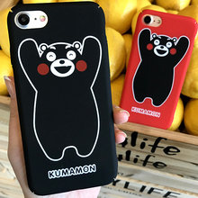 7b5e0c5dec Kumamon Bear Case For iPhone 8 8plus 7 7 Plus Cases Cartoon Phone Case For  iphone