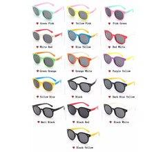WarBLade, солнцезащитные очки для девочек с изображением кота, детские солнцезащитные очки с кошачьим глазом для девочек, детские солнцезащитные очки с поляризацией, резиновые, для ученика, гибкие, со стрелкой