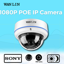 WAN LIN 2.0MP SONY IMX323 Full HD 1080P PoE IP Camera Network Camera Dome Vandalproof Security Camera Video Surveillance Camera