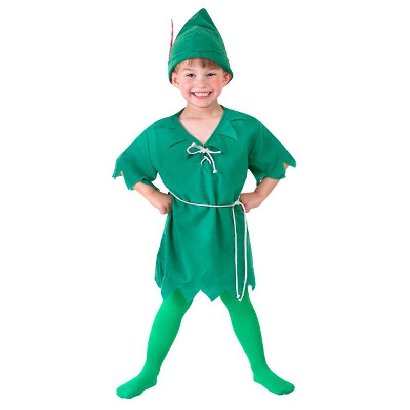 Child Peter Pan Costume Kids Halloween Costumes