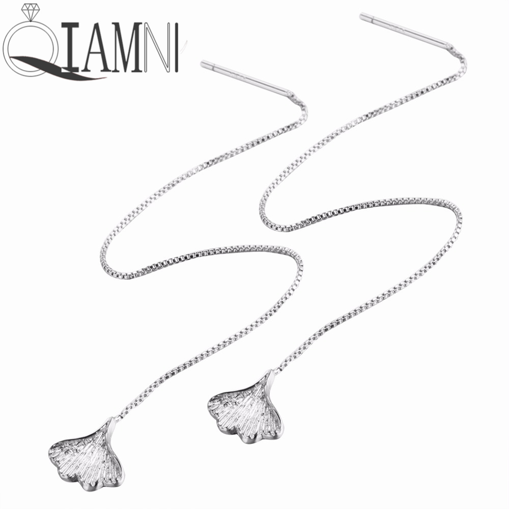 QIAMNI-925-Sterling-Silver-Ball-Heart-Leaf-Ginkgo-Dangle-Earring-Valentine-s-Day-Gift-Women-Girl (2)_