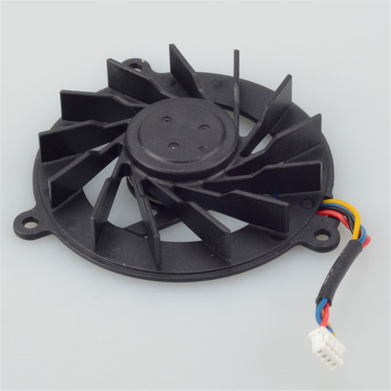 Laptops Replacements Cooling Fans For ASUS A8 F8 A8F Z99 X80 N80 N81 F3J F8S Z53J Z53 M51 4Pin Notebook Cpu Cooler new origl lcd back cover bezel hinge for asus a8 a8j a8h a8f a8s z99 z99f z99s