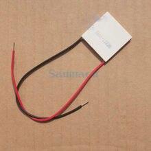 Размер: 30x30x4 мм 2A напряжением 15 Вт 20 Вт TES1-12702 Термоэлектрический охладитель радиатор платье