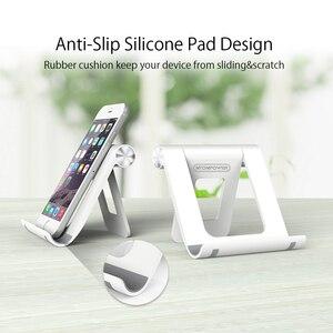 Image 5 - Ntonpower suporte para celular, suporte para celular com almofada de silicone antiderrapante e ajuste de 360 graus, suporte para tablet para mesa xiaomi xiaomi compatível com xiaomi,