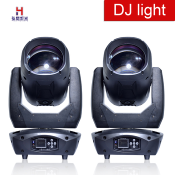 LED 80 ワット移動ヘッドライトスーパー移動 DMX コントローラフォーカス御坊効果プロの舞台照明 (2 ピース/ロット)
