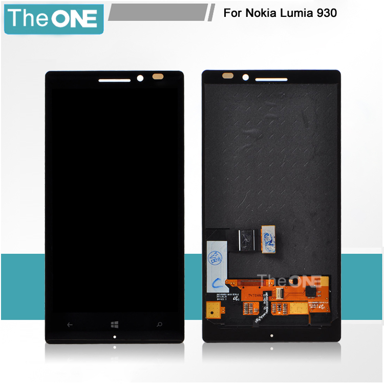 Подробнее о Free DHL For Nokia Lumia 930 LCD Display Digitizer Touch Screen with frame Full Set Assembly Black lcd display screen with touch screen digitizer with frame assembly full set for nokia lumia 1320