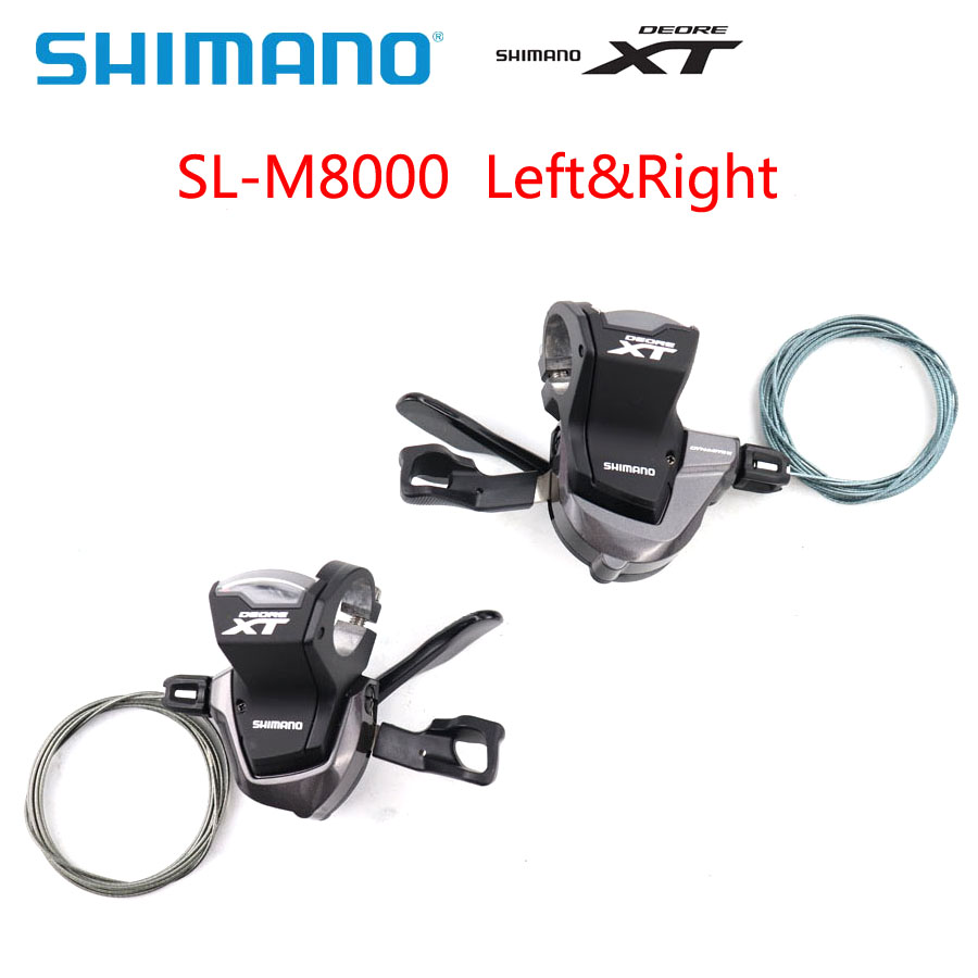Le levier de changement de vitesse Shimano XT SL M8000 3x11 2x11-Speed vtt comprend des dérailleurs de vélo à câble manette de vitesse des pièces de vélo