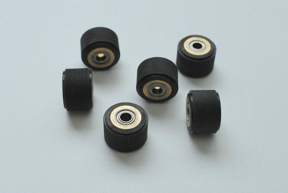 5p Pinch Roller Roland Mimaki Graphtec CE5000 120 Vinyl Cutter Printer Cutting Plotter Rubber Pressure Wheel Bearing Copper Core