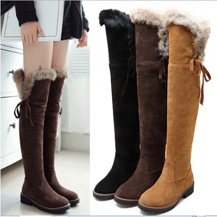 Over The Knee Winter Boots - Boot 2017