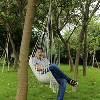Single person Hammocks Garden Dormitory Bedroom Hanging Swinging Child Adult Swinging Single Safety Hammock