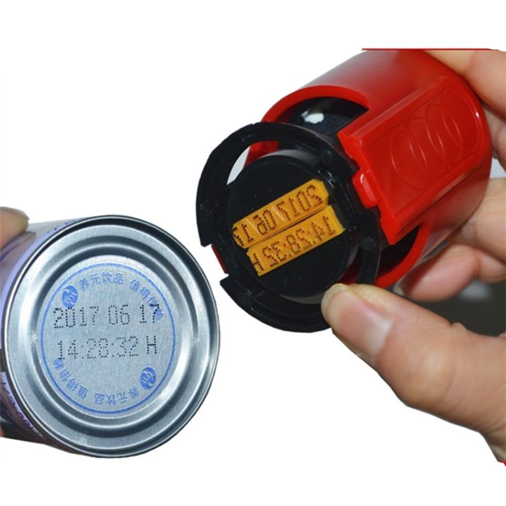 Mini A6 Handheld Coding Machine,small Letterpress Machine,ink Date Printer,manual Date Stamp Stamping Date Machine