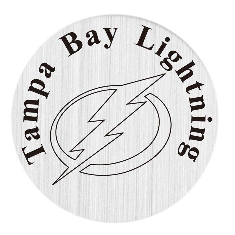 Tampa Bay Lightning 22 мм Нержавеющаясталь с плавающей медальон плиты НХЛ плавающий Талисманы Fit 30 мм жизни Стекло медальоны 20 шт./лот
