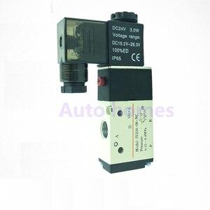 """Image 2 - 3V210 06 3V210 08 NO/NC Port 1/8"""" 1/4""""  Pneumatic Solenoid Valve 3/2 way control valve DC24V AC220V"""