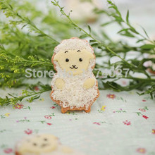 Cute cartoon sheep biscuit baking mold DIY stainless steel cookie cutter moulds tools Free shipping