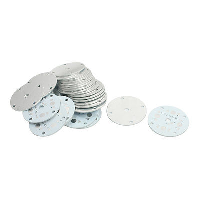 30PCS 48mm Circle Aluminum PCB Circuit Board for 4 x 1W/3W LED in Series circuit board hardware pcb 1371 2 1 piece
