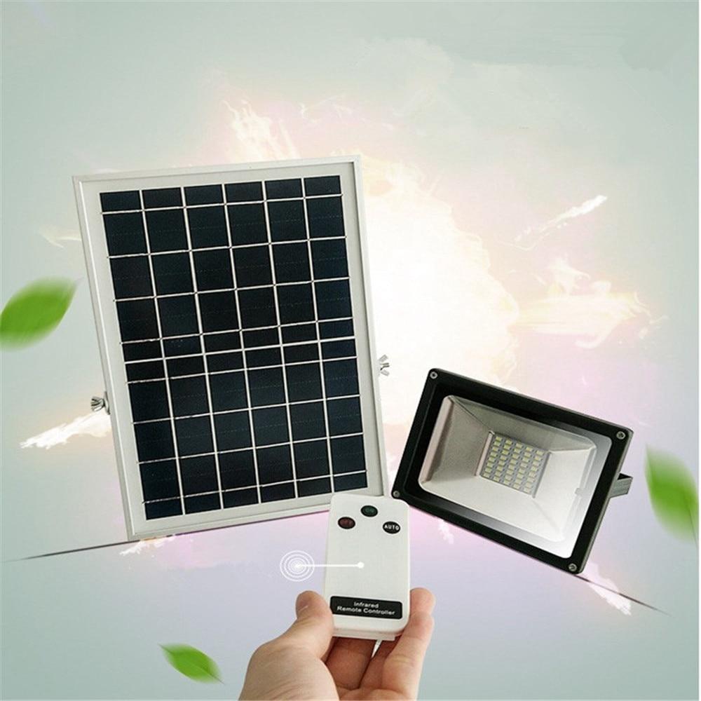 30w Led Flood Lights In Dubai Outdoor Lighting: 10W 20W 30W 50W Solar LED Floodlight Cool White Remote