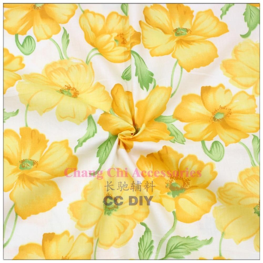 ④Envío libre 50 cm * 150 cm flores de dibujos animados serie tela ...