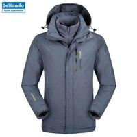 Plus Size snowboard jacket men waterproof snow jackets men Thermal ski jacket Fleece Mountain hiking ski jacket Big yards