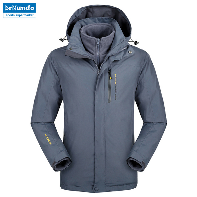 Plus Size snowboard jacket men waterproof snow jackets men Thermal ski  jacket Fleece Mountain hiking ski jacket Big yards c462d880c