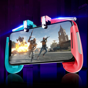 Image 5 - AK16 Metall Smart Telefon Mobile Gaming Trigger Für PUBG Controller Gamepad L1R1 Taste Ziel Shooter Joystick Game Pad