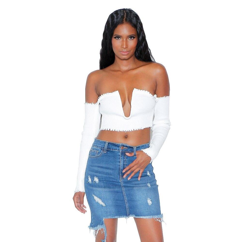 UTMEON  Summer Jeans Skirt Women Mid Waist Irregular Edges Denim Skirts Female Washed  Casual Skirt Shredded Jeans Hip Skirt