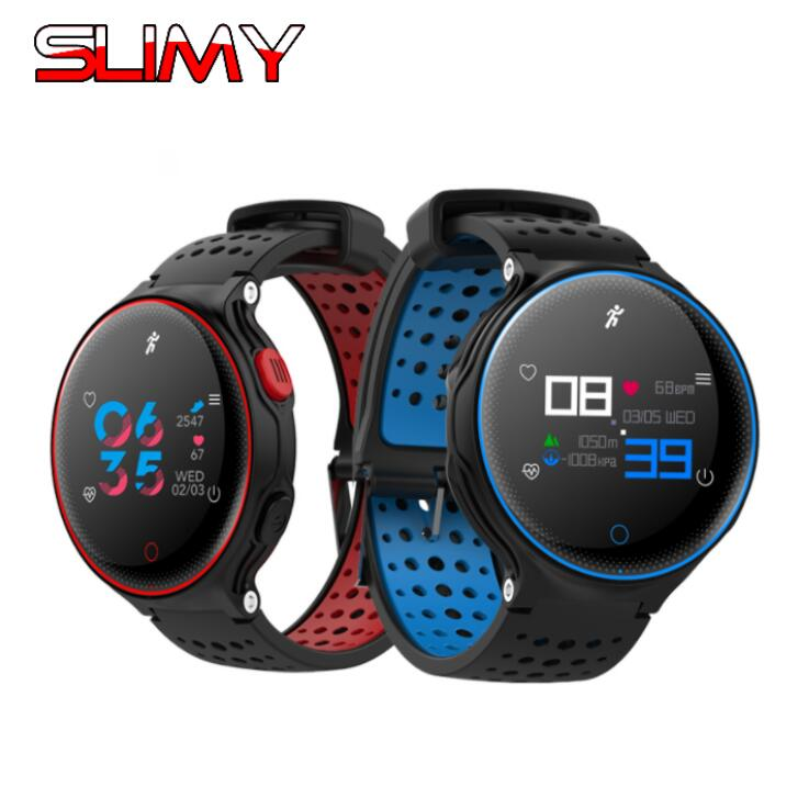 Slimy X2 Plus Smart Band Heart Rate Monitor Wristband Blood Pressure Blood Oxygen Bluetooth Smart Bracelet for Android IOS Phone