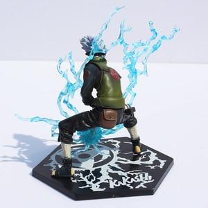 Image 3 - Anime giapponese Naruto Hatake Kakashi PVC Action Figure Toy con Lightning Blade 16cm ottimo regalo spedizione gratuita